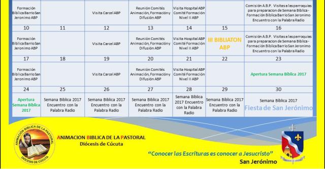 Cúcuta PLAN SET 2017